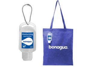 Beau Shopper Bag With 50Ml Sanitiser
