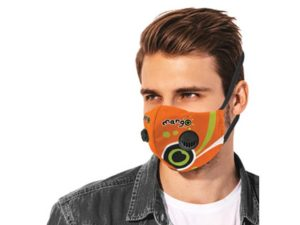 Cole 3 Layer Mask With Double Respiratory Valve