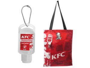 Florence Shopper Bag With 50Ml Sanitiser