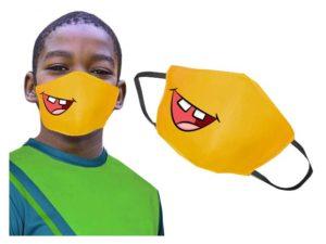 Kiddo Emoji 3 Layer Washable Face Mask