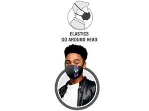 Pico Unisex 3 Layer Washable Face Mask