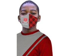 Plaid Kiddo 5 Day 3 Layer Face Masks