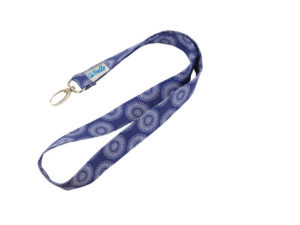 Shweshwe 25Mm Lanyard With Lobster Hook