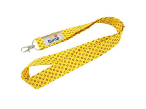Shweshwe 25Mm Lanyard With Snap Hook