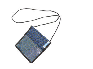 Shweshwe Conference Pouch