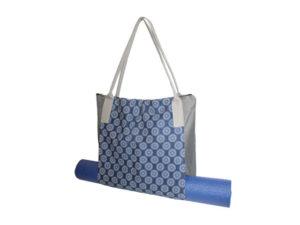 Shweshwe Yoga Mat Tote Bag
