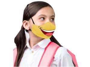 Smarty Emoji 3 Layer Washable Face Maks