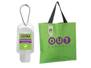 Tackle Tote Bag With 50Ml Sanitiser