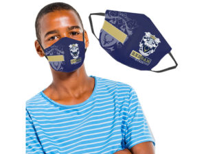 Teen 3 Layer Face Mask With Area To Write Name
