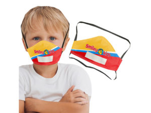 Tot 3 Layer Face Mask With Area To Write Name